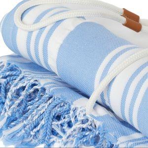 NWT lemlem x H&M Blue Organic Cotton Beach Towel